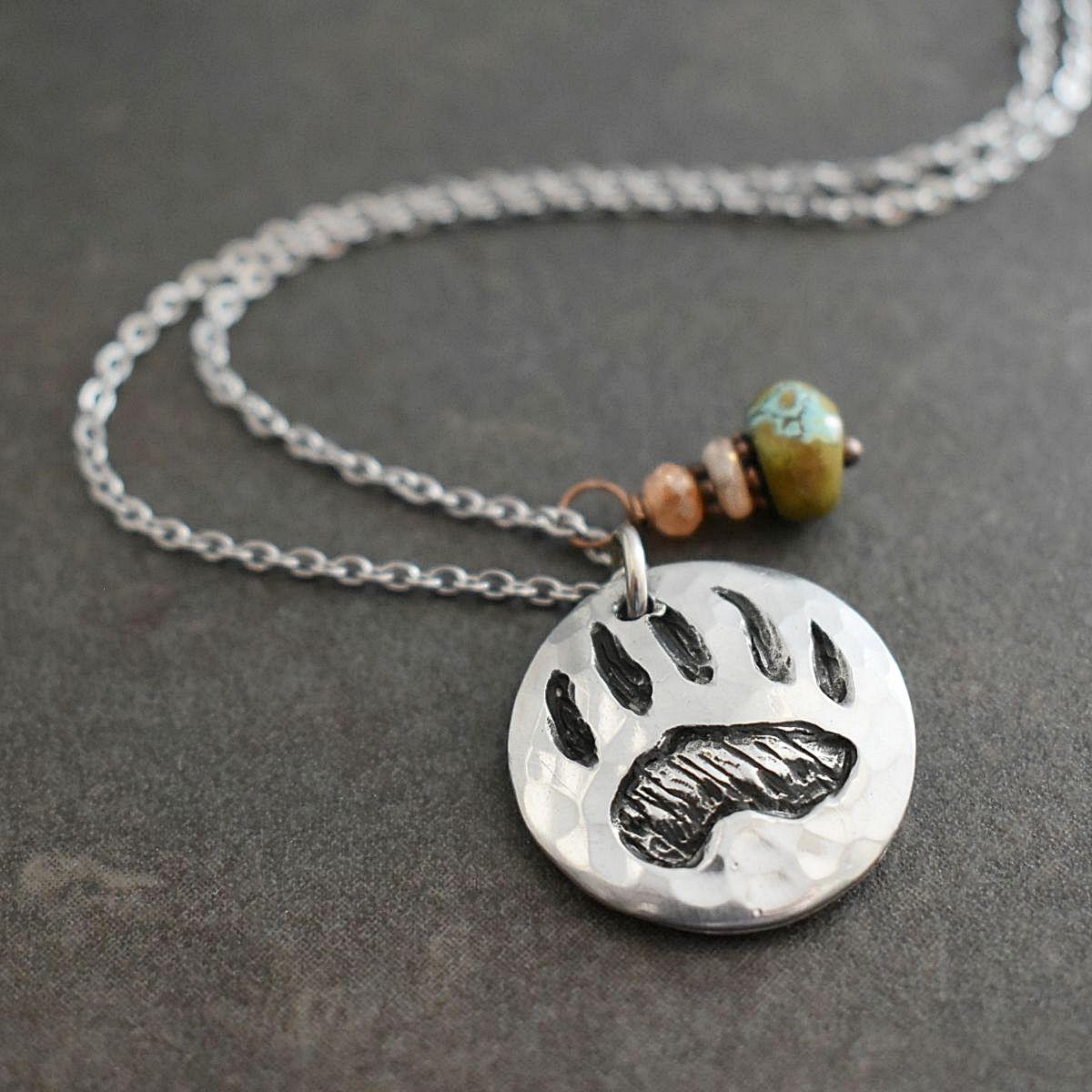 Bear track jewelry
