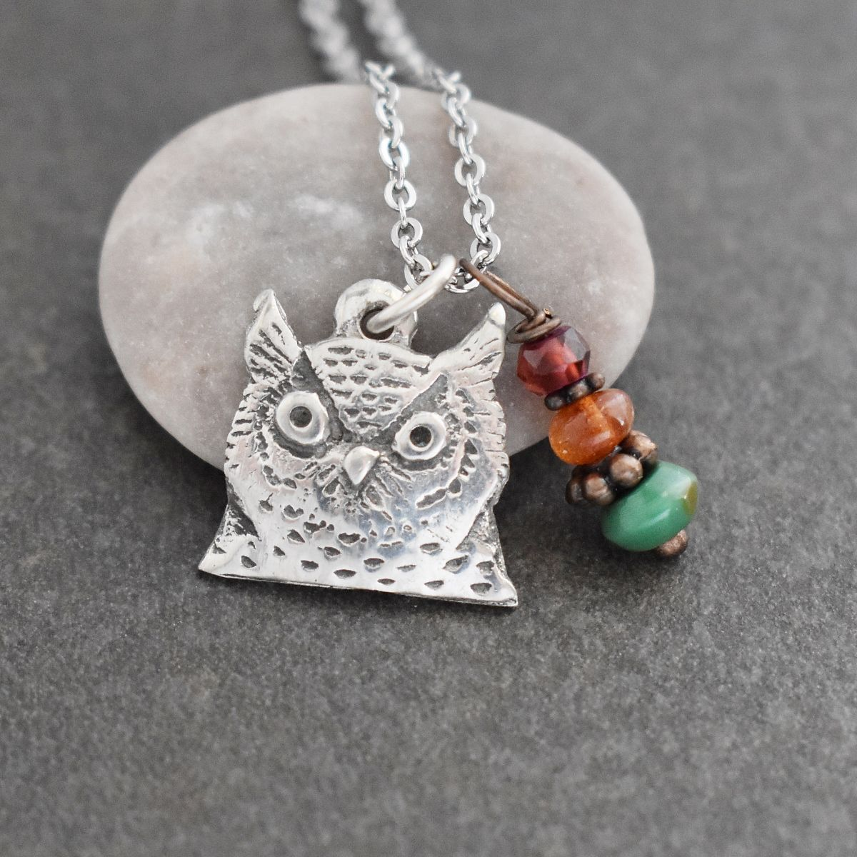 Great Horn Owl Necklace