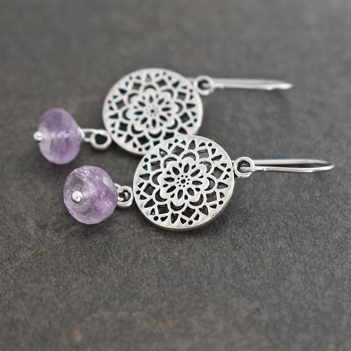 Scandinavian Flower Earrings