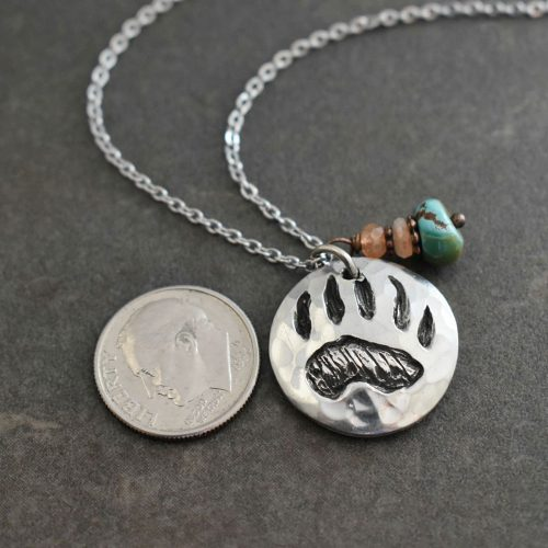 Bear Print necklace