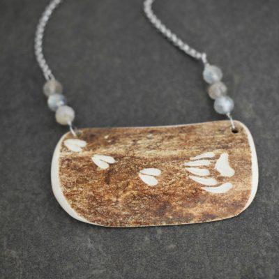 Caribou Antler labradorite