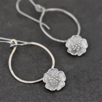 Nature Bridal earrings