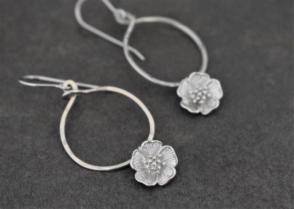 Nature Bridal earrings