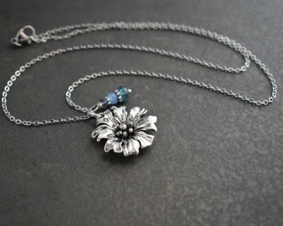 Cornflower Jewelry for the flower lover