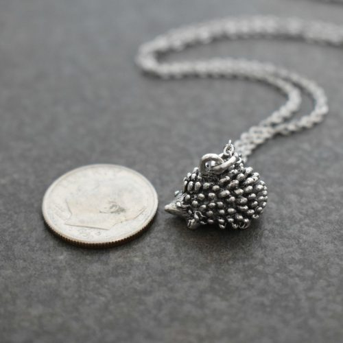 Pewter woodland hedgehog
