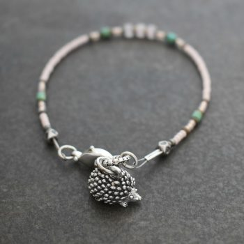 Cute Hedgehog bracelet