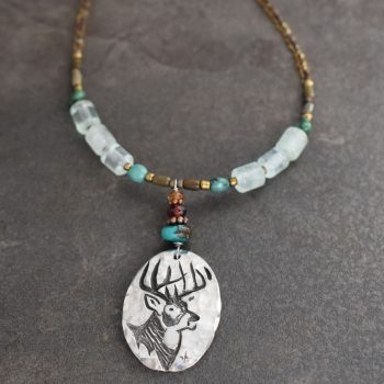 Beaded Whitetail Necklace