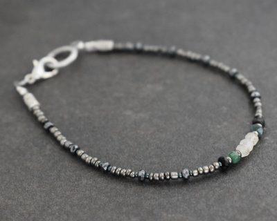 Dainty Emerald Bracelet