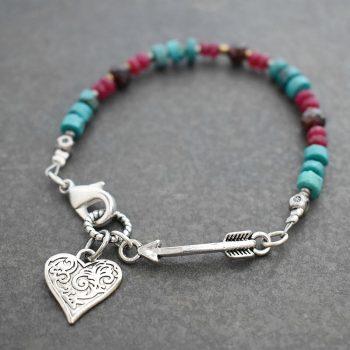 Heart & Arrow Bracelet