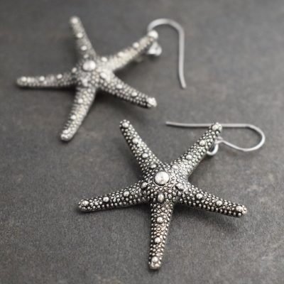 Large Starfish Earrings
