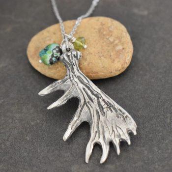 Moose Antler Necklace
