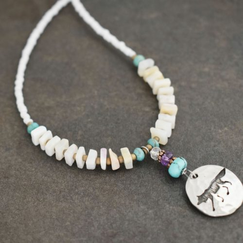 Opal Gemstone Necklace