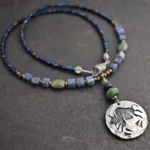 Southwest Buffalo Necklace