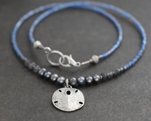 Beaded Sand Dollar Necklace