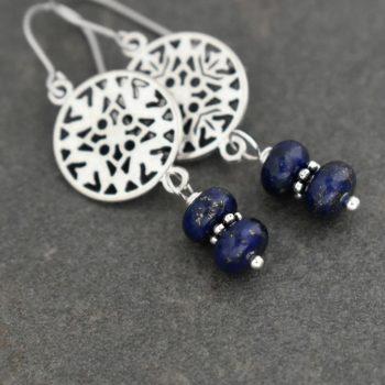 Nordic Snowflake Earrings
