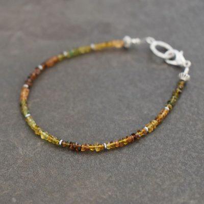 Brown Tourmaline Bracelet