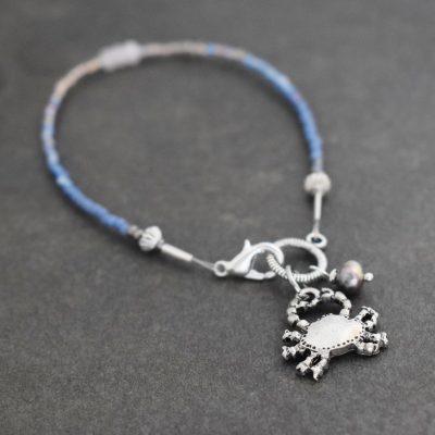 Blue Crab Bracelet