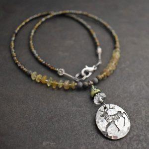 Beaded Elk Necklace